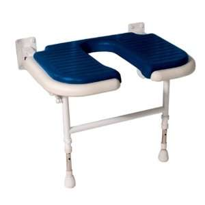 AKW Medicare Deluxe Extra Wide Fold Up U Shaped Shower Chair
