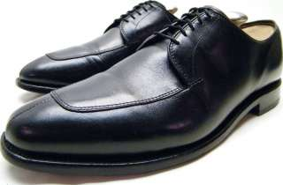 MENS ALLEN EDMONDS DELRAY BLACK OXFORD DRESS SHOES SZ 9.5~1/2 D 9.5D