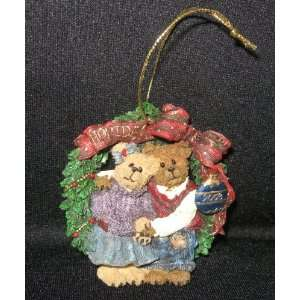 Boyds Bears & Friends Holly & Barry Ornament