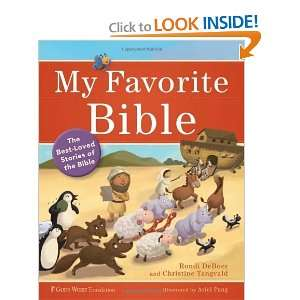 The Best Loved Stories of the Bible [Hardcover] Rondi DeBoer Books