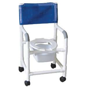 MJM International Standard Shower Chair With Square