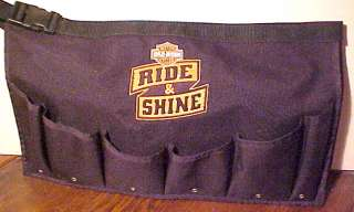 HARLEY DAVIDSON MOTORCYCLE RIDE & SHINE UTILITY TOOLS CANVAS