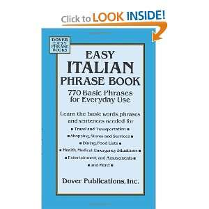 Everyday Use (Dover Language Guides Italian) [Paperback] Dover Books