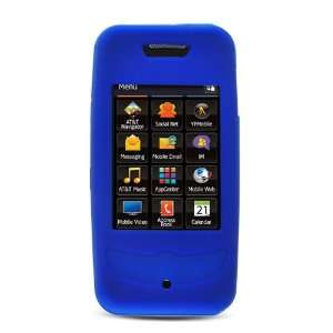 Blue Soft Silicone Skin Gel Cover Case for Samsung Flight
