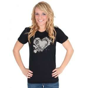 Grunge Heart American Apparel T Shirt