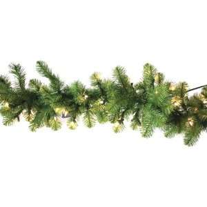 Pine PVC 100 Clear Lights 220 Tips, 9 Foot by 12 Inch