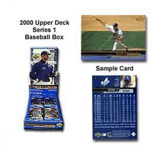 Upper Deck Mlb 2000 Series One Unopened Trading Card Box