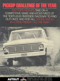 1967 Ford Pickup Truck Brochure