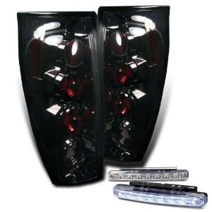 Eautolights 02 06 Chevy Avalanche Tail Lights + LED Bumper
