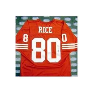 Jerry Rice autographed Football Jersey (San Francisco 49ers)