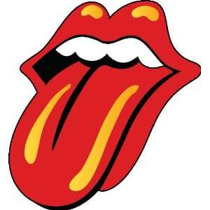 Rolling stones sticker vinyl decal 4 x 3.6 Everything