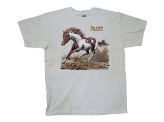 Horse T Shirt Paint Horse Running