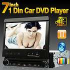 TouchScreen 1 Din Detachable Car DVD Player Stereo Radio FM Receiver