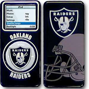 Officially Licensed College NFL Nano 1 Cover   Oakland Raiders