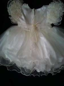 NEW Baby girl christening party dress 0 6 6 12 12 18 24