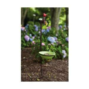 , Faux Copper Bird Feeder   (Bird Feeders) (Cardinals) (Goldfinches