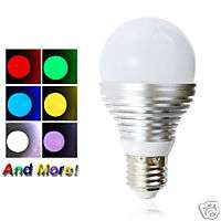 HIGH OUTPUT 16 color LED Light Bulb remote control BIG