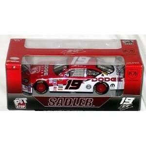 Nascar #19 Elliott Sadler 124 Scale Stock Car Toys