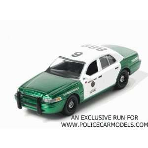 Diego, CA Police Traffic Ford Crown Vic   GREEN MACHINE Toys & Games