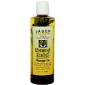 Natural Herbal Massage Oil 8 oz.