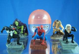 TOMY MARVEL SPIDER MAN FIGURE COLLECTION (5) SERIES 1