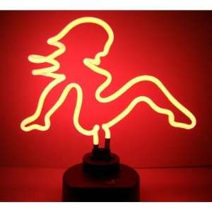 Neonetics 4MDFLP Mud Flap Girl Neon Sculpture Everything