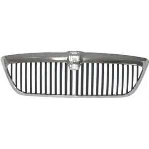 01 02 LINCOLN NAVIGATOR GRILLE SUV, Chrome/Silver Black (2001 01 2002