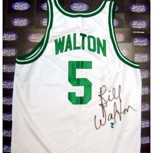 Bill Walton Autographed/Hand Signed Jersey (Home White
