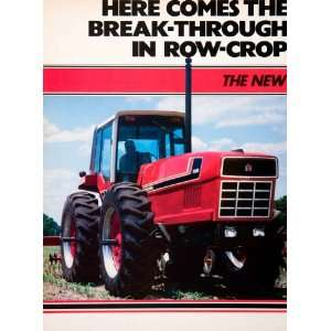 1979 Ad International Harvester Farming Equipment Machinery