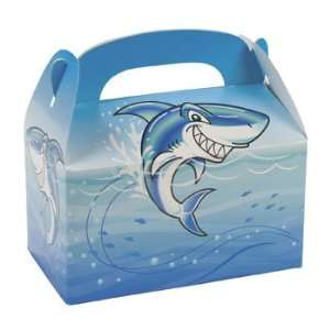 Jawsome Shark Treat Boxes   Party Favor & Goody Bags & Paper Goody