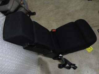 F150 BLACK CLOTH console jump seat F150 W/ CUP HOLDER / STORAGE 2007