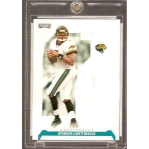 2006 Playoff NFL Football Byron Leftwich Jacksonville Jaguars Card #10