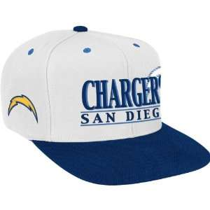 Reebok San Diego Chargers Snap Back Hat Adjustable Sports