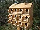 PURPLE MARTIN BIRD HOUSE 12 COMPARTMENTS MADE OF WESTERN RED CEDAR