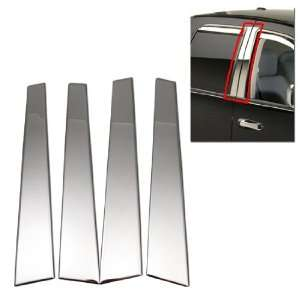02 07 DODGE RAM CREW CAB STAINLESS DOOR PILLAR COVERS