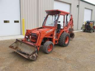 GOOD KUBOTA L35 4X4 TRACTOR LOADER BACKHOE