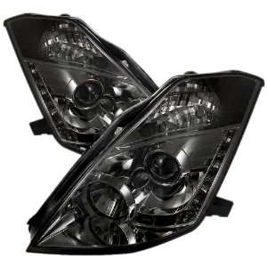 Spyder Auto PRO YD N350Z02 DRL SM Smoke LED Projection