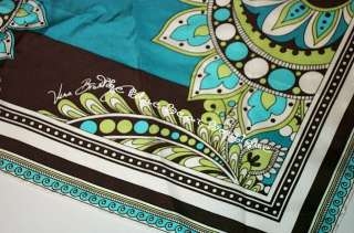 Vera Bradley Retired Peacock Limited Ed Silk Scarf