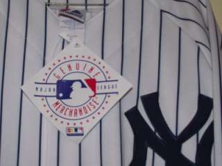 Johnny Damon New York Yankees Autograph Majestic XL Jersey GAI COA