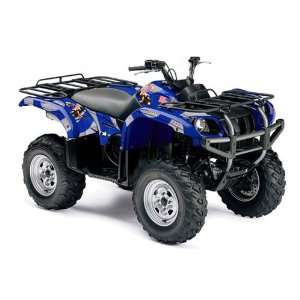 Yamaha Grizzly 660 ATV Quad Graphic Kit   T bomber Blue Automotive