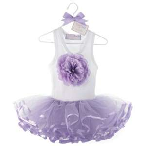 Mud Pie Tutu Tu Tu Dress Baby Buds Flower Ballerina Ballet Girls Set