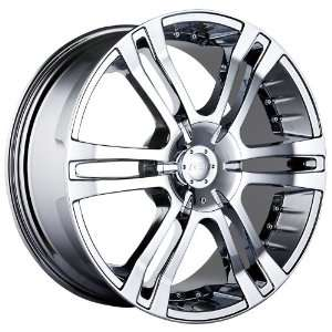22 Inch 22x9.5 MPW wheels STYLE MP207 Chrome wheels rims