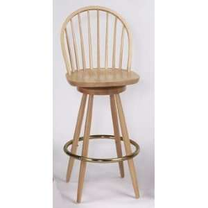 Windsor Restaurant Commercial Wood Swivel Counter Stools