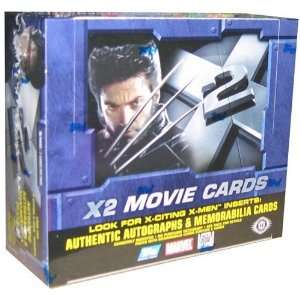 X Men X 2 The Movie Trading Cards HOBBY Box   36P