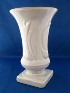 Art Deco Flair Sailboat Vase McCoy Vase Light Gray