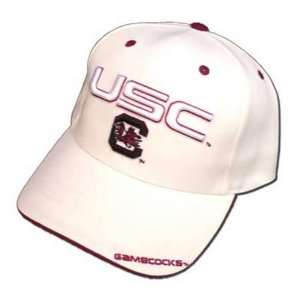 Twins South Carolina Gamecocks White Fusion Hat Sports