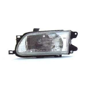 1997 97 TOYOTA TERCEL HEADLIGHT ASSEMBLY, DRIVER SIDE   DOT Certified