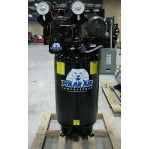 HP Single Phase 80 Gallon Vertical Air Compressor