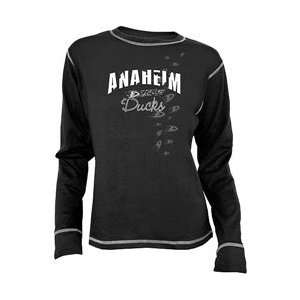 Anaheim Ducks Womens Bianca Long Sleeve T shirt   Anaheim Ducks
