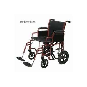 Medical 20 Wide Heavy Duty Transport Chair